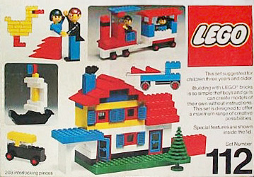 Lego 112 Building Set, 3+ image