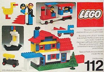 Изображение набора Лего 112 Building Set, 3+