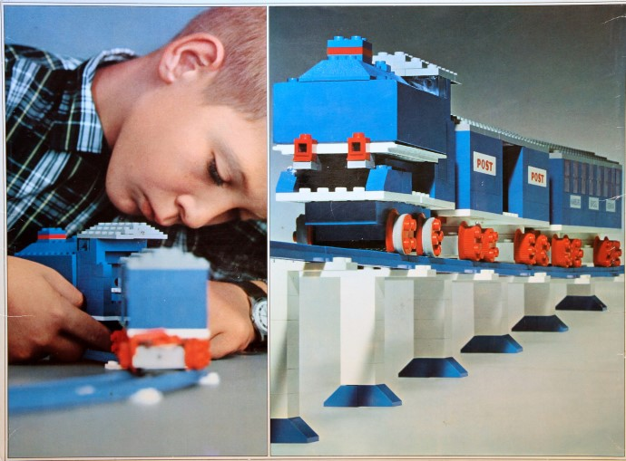 Lego 113 Motorized Train Set image