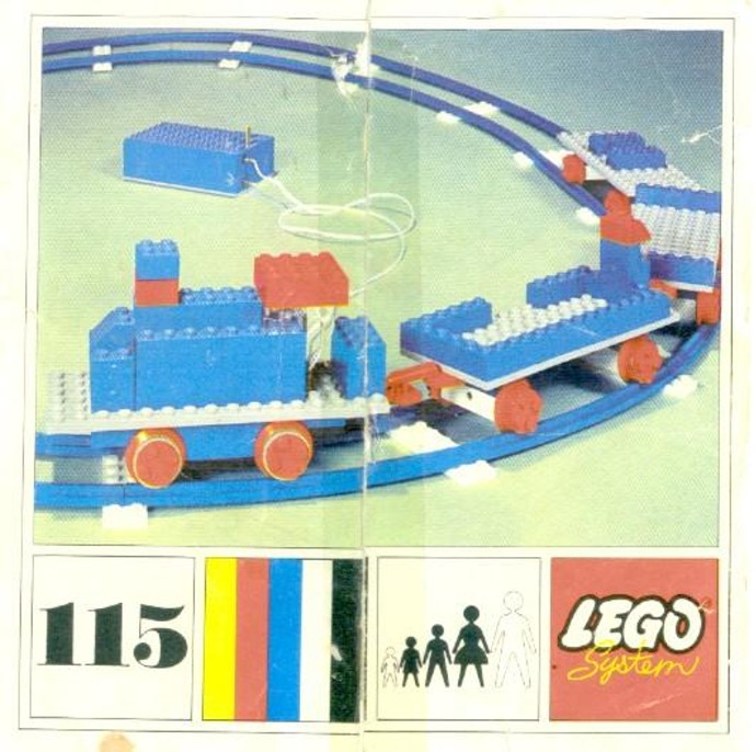 Lego 115 Starter Train Set with Motor image