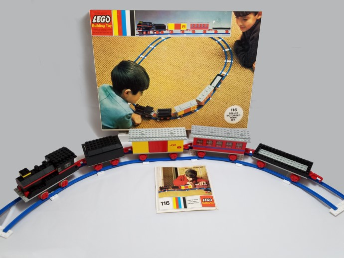 Lego 116 Deluxe Motorized Train Set image