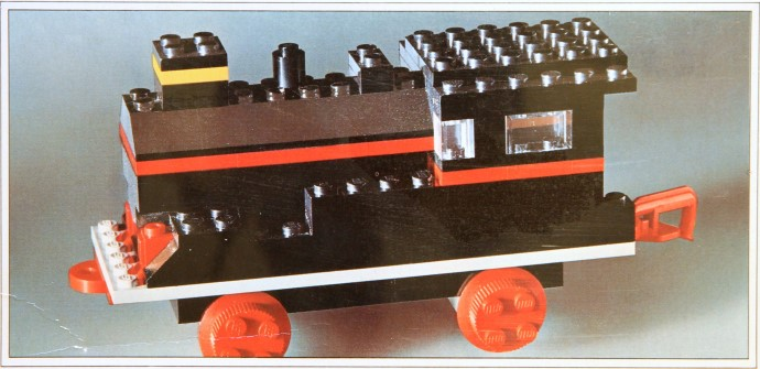 Lego 117 Locomotive without Motor image