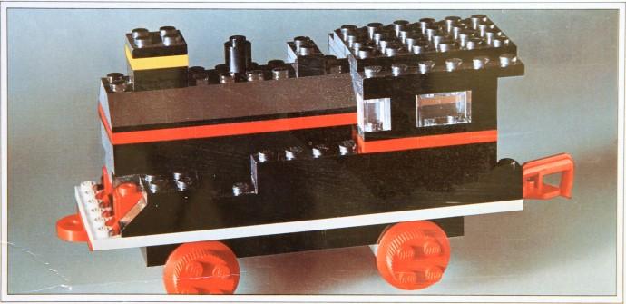 Изображение набора Лего 117 Locomotive without Motor