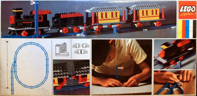 Lego 119 Super Train Set image
