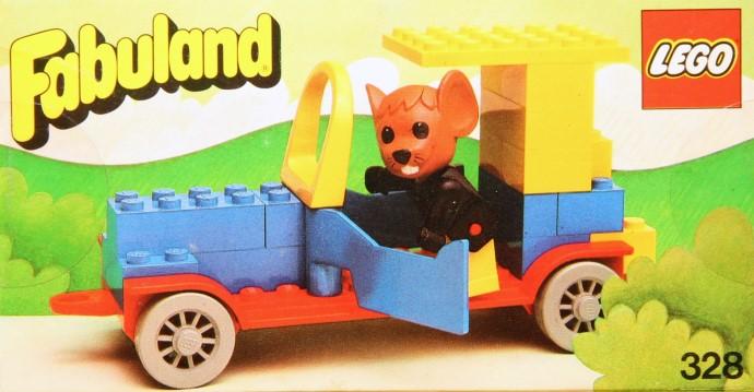 Lego 121 Roadster image