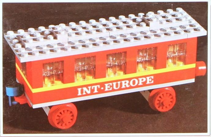 Изображение набора Лего 123 Passenger Coach