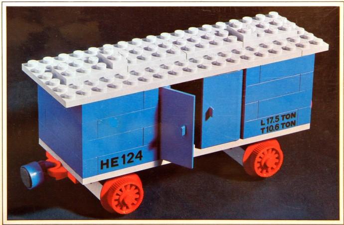 Изображение набора Лего 124 Goods Wagon