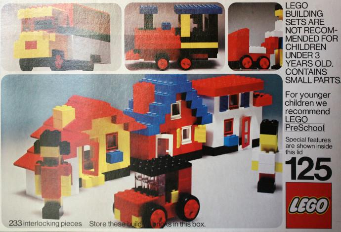 Изображение набора Лего 125 Universal Building Set