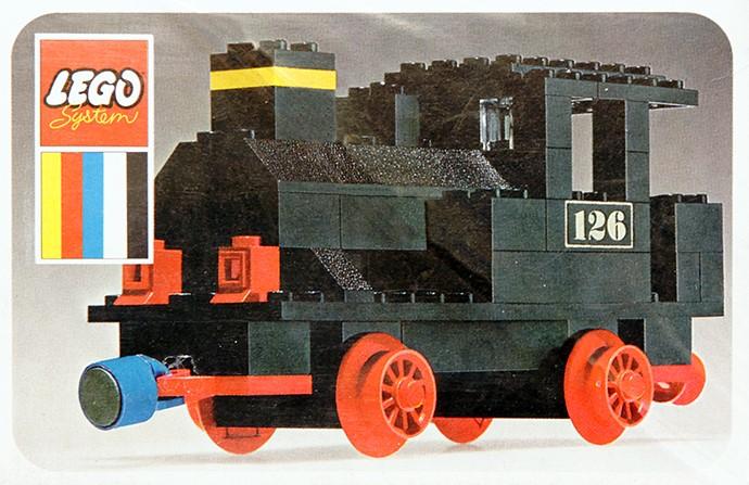 Изображение набора Лего 126 Steam Locomotive (Push)