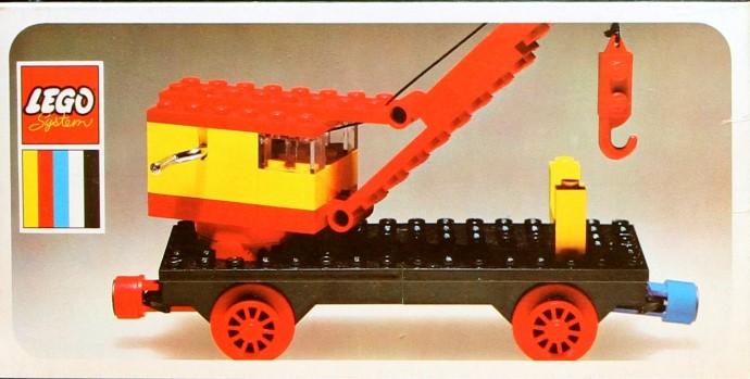 Изображение набора Лего 128 Mobile Crane (Train Base)