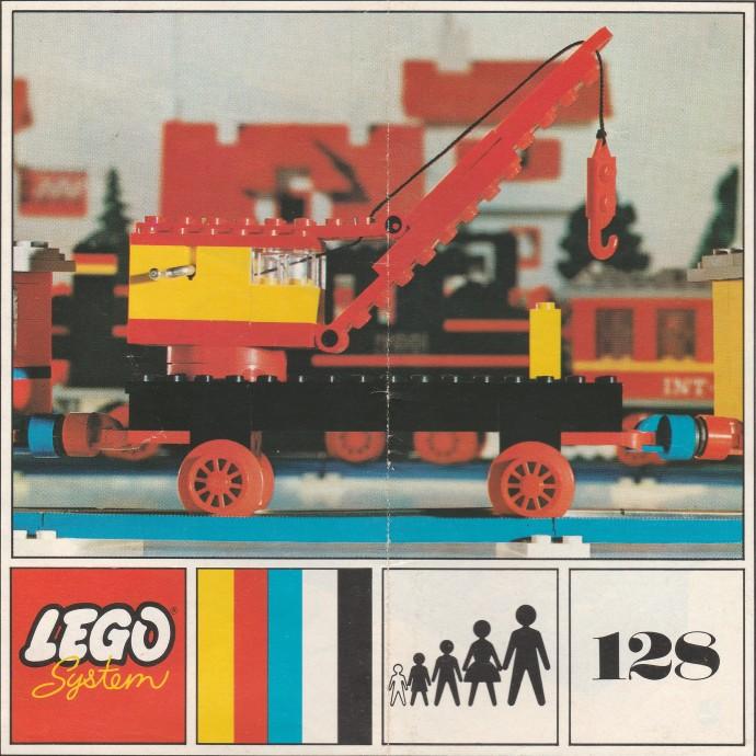 Изображение набора Лего 128 Mobile Crane (Plate Base)