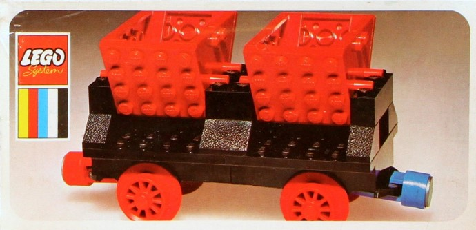 Lego 130 Double Tipper Wagon image