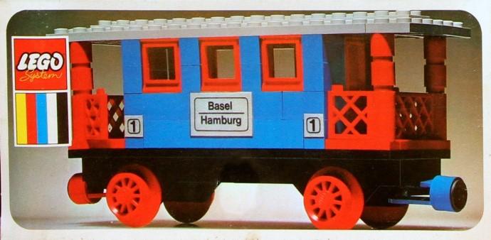 Lego 131 Passenger Coach image