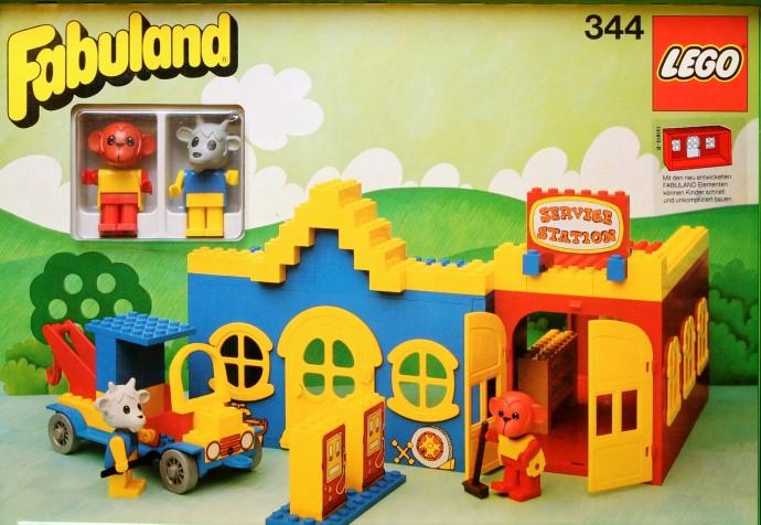 Изображение набора Лего 134 Service Station