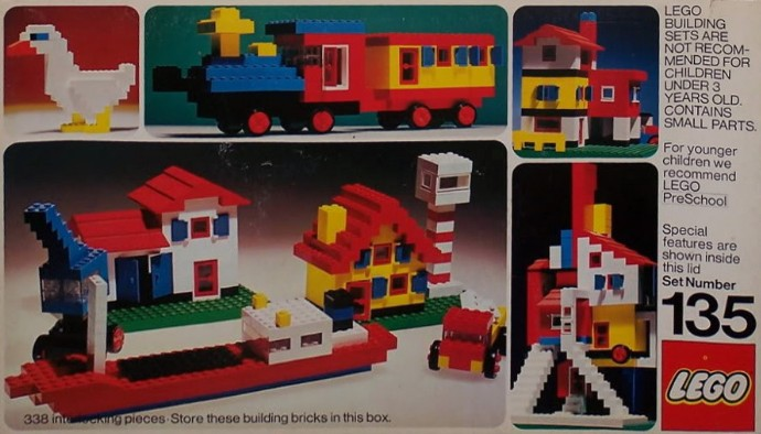 Lego 135 Building Set image
