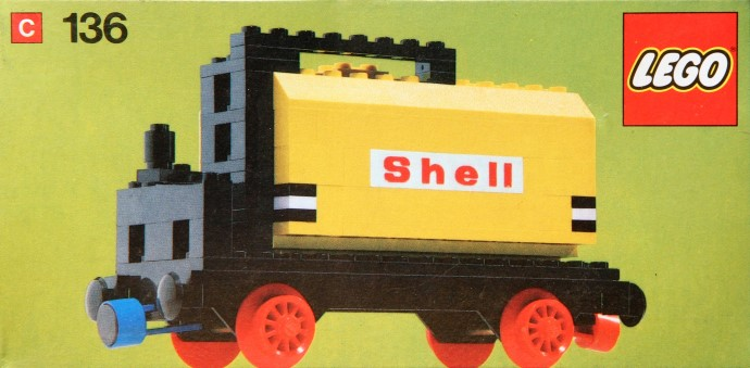 Lego 136 Tanker Wagon image