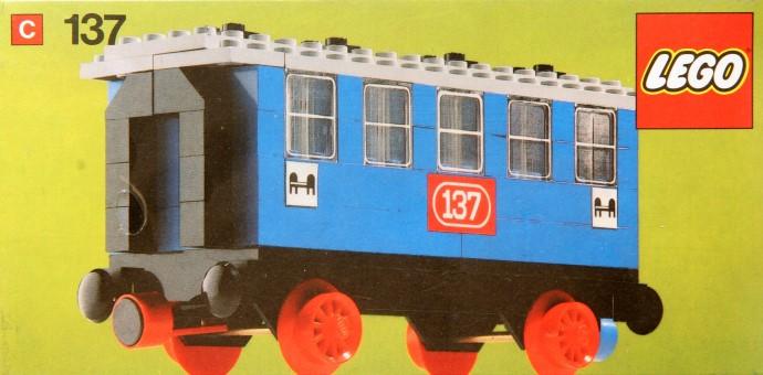 Lego 137 Passenger sleeping car image