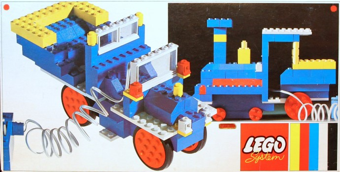 Lego 140 Basic Set With Motor image
