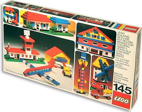 Изображение набора Лего 145 Universal Building Set