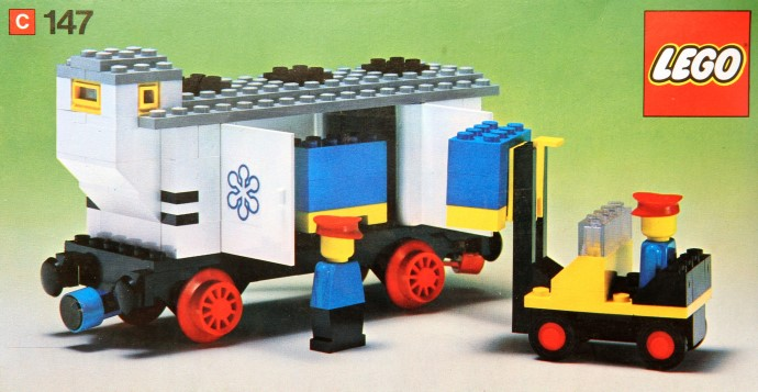 Lego 147 Refrigerated Wagon image