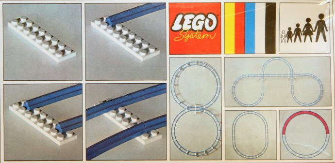 Lego 151 Curved Track image