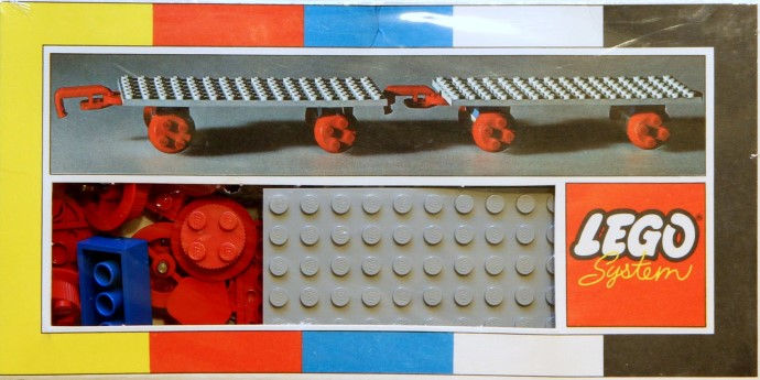 Lego 152 Two Train Wagons image