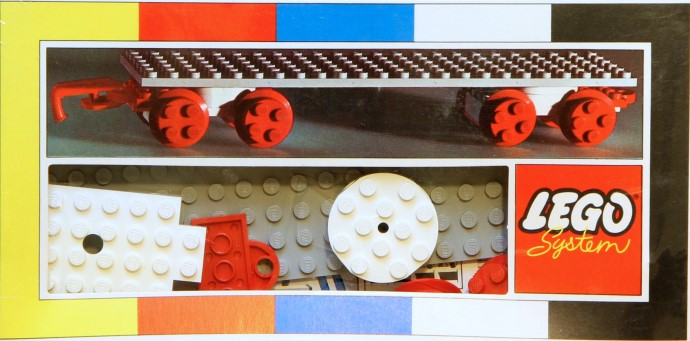 Lego 153 Large Train Wagon image