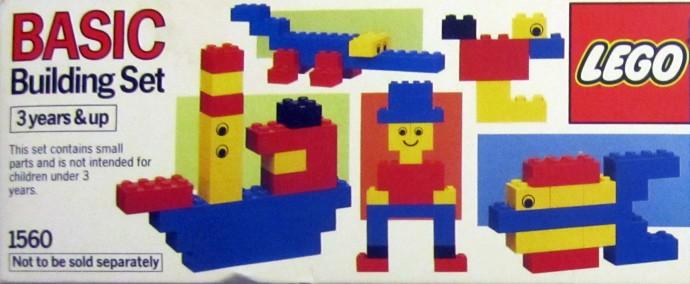 Изображение набора Лего 1560 Basic Building Set