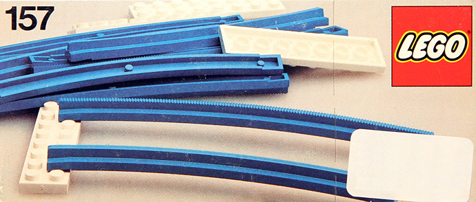 Lego 157 Curved Track image