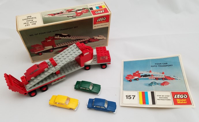Lego 157 4 Car Auto Transport image