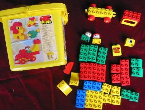 Lego 1591 Duplo Bucket