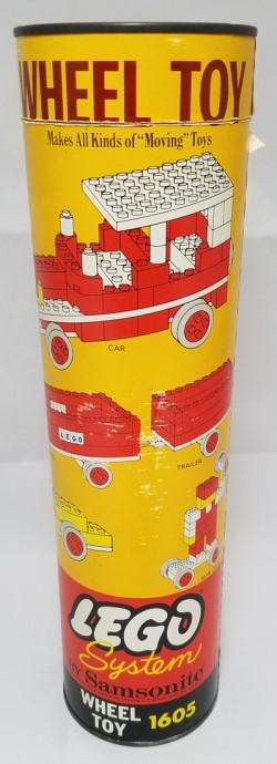 Lego 1605 Wheel Toy Set image