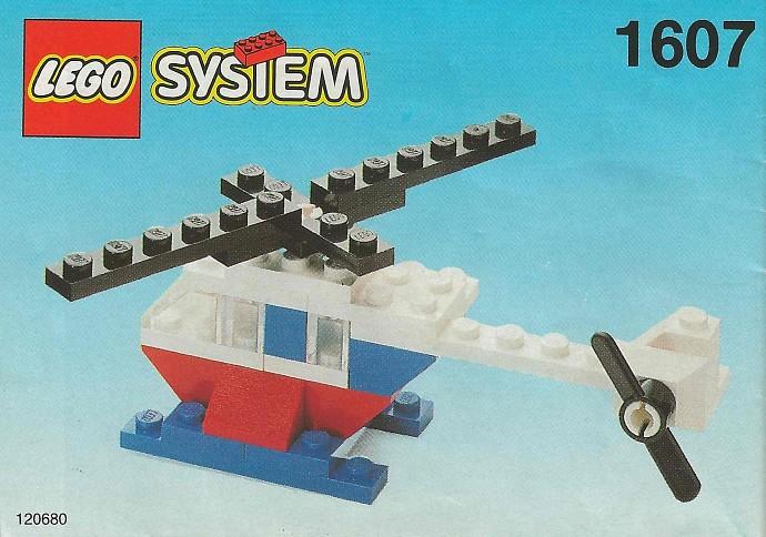 Lego 1607 Helicopter image