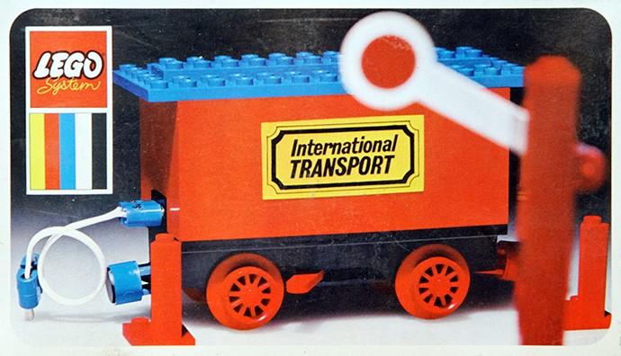 Изображение набора Лего 161 Battery Wagon