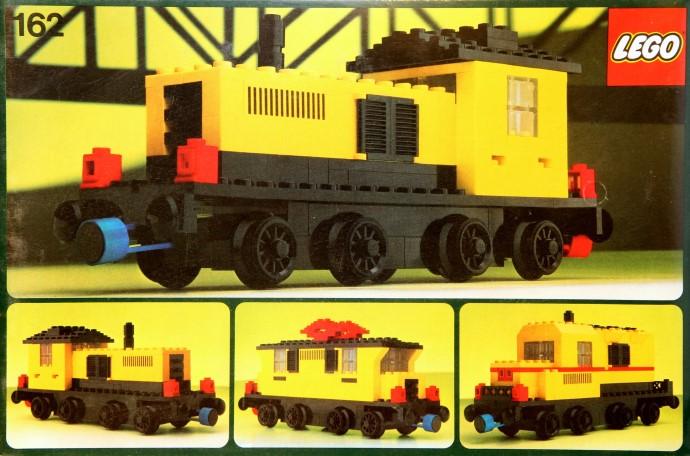 162 1 locomotive brickset lego set guide and database for Brick city motors reviews