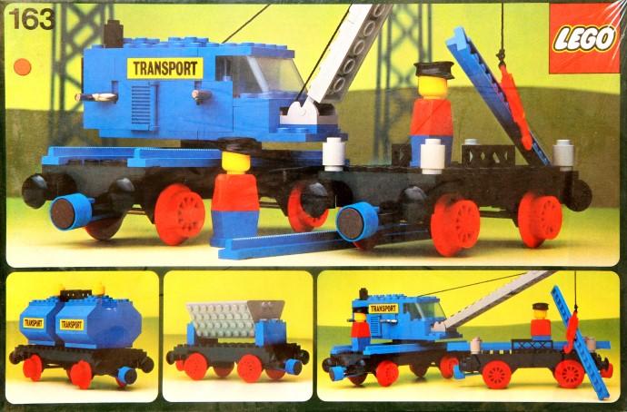 Lego 163 Cargo Wagon image