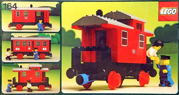 Lego 164 Passenger Coach image