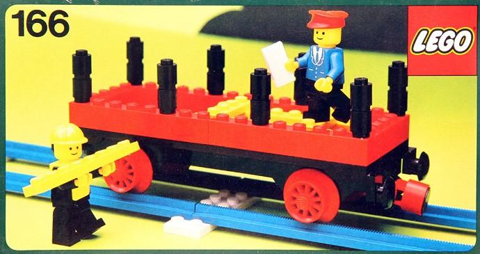 Lego 166 Flat wagon image