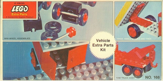 Lego 166 Vehicle Extra Parts Kit image