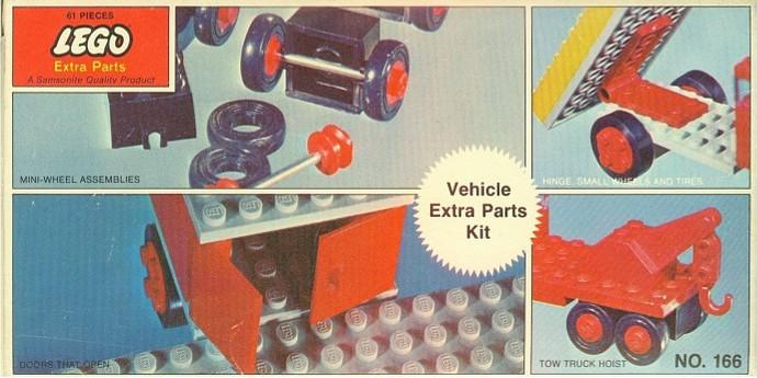 Изображение набора Лего 166 Vehicle Extra Parts Kit