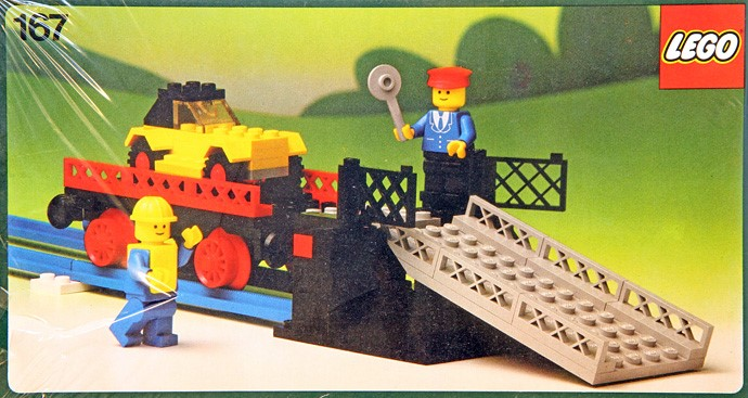 Lego 167 Car transport wagon image