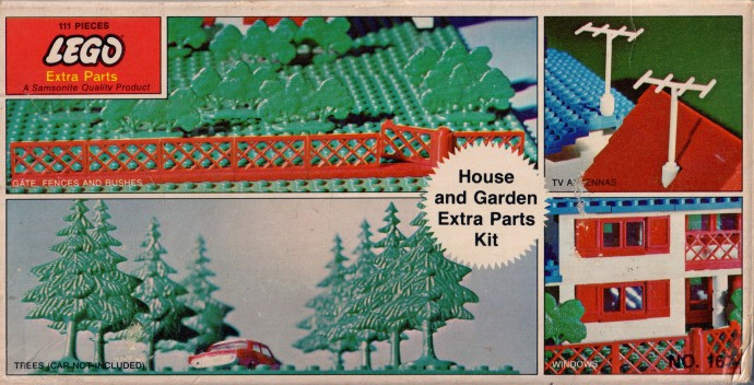 Lego 167 House and Garden Extra Parts Kit image