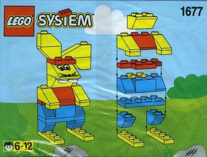 Изображение набора Лего 1677 Rabbit