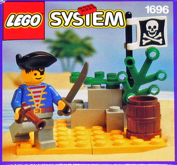 pirate lookout - Lego Pirate