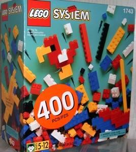 Lego 1743 Standard Bricks, 5+ image