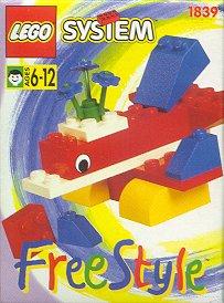 Изображение набора Лего 1839 Freestyle Set