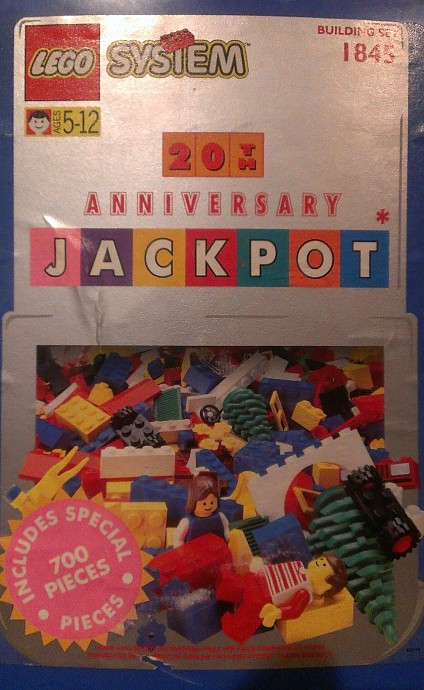 1845 1 20th Anniversary Jackpot Bucket Brickset Lego