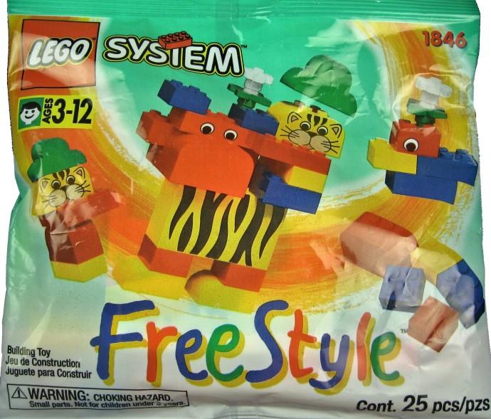 Изображение набора Лего 1846 Freestyle Set