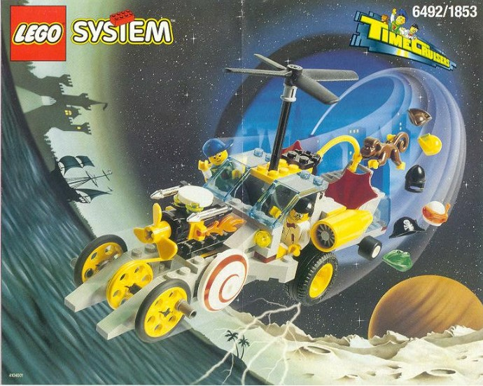Lego Twisted Time Train 6497 NA