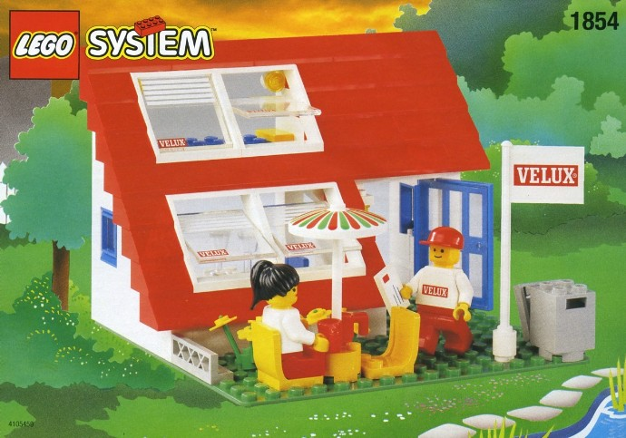 Classic LEGO Sets: Classic Town residences | Brickset ...